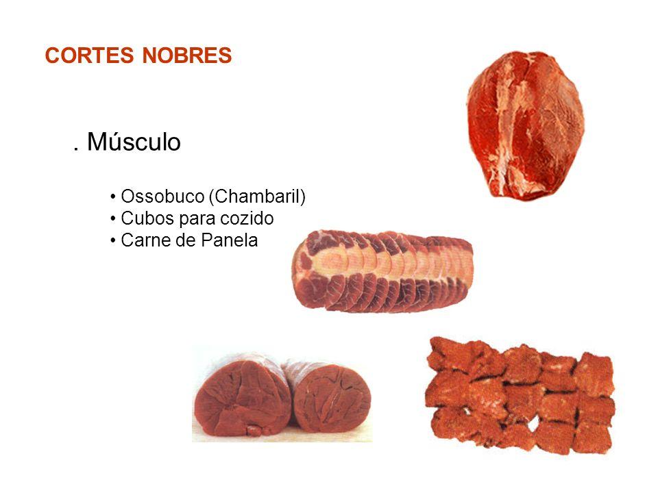 . Músculo CORTES NOBRES Ossobuco (Chambaril) Cubos para cozido