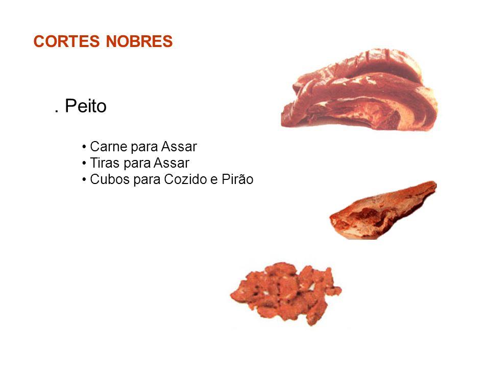 . Peito CORTES NOBRES Carne para Assar Tiras para Assar