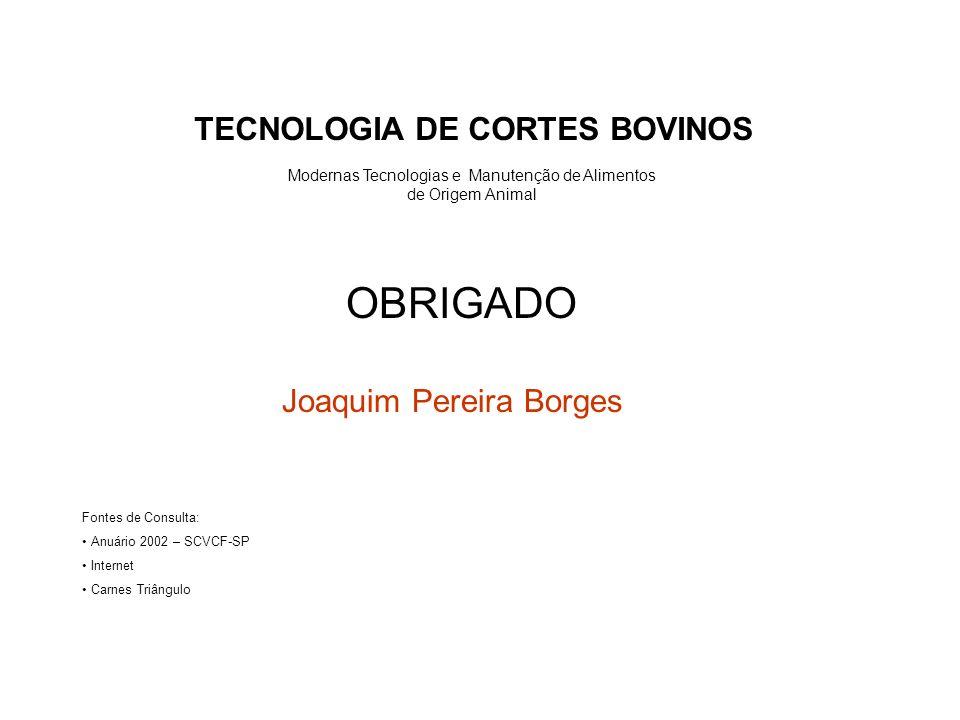 TECNOLOGIA DE CORTES BOVINOS