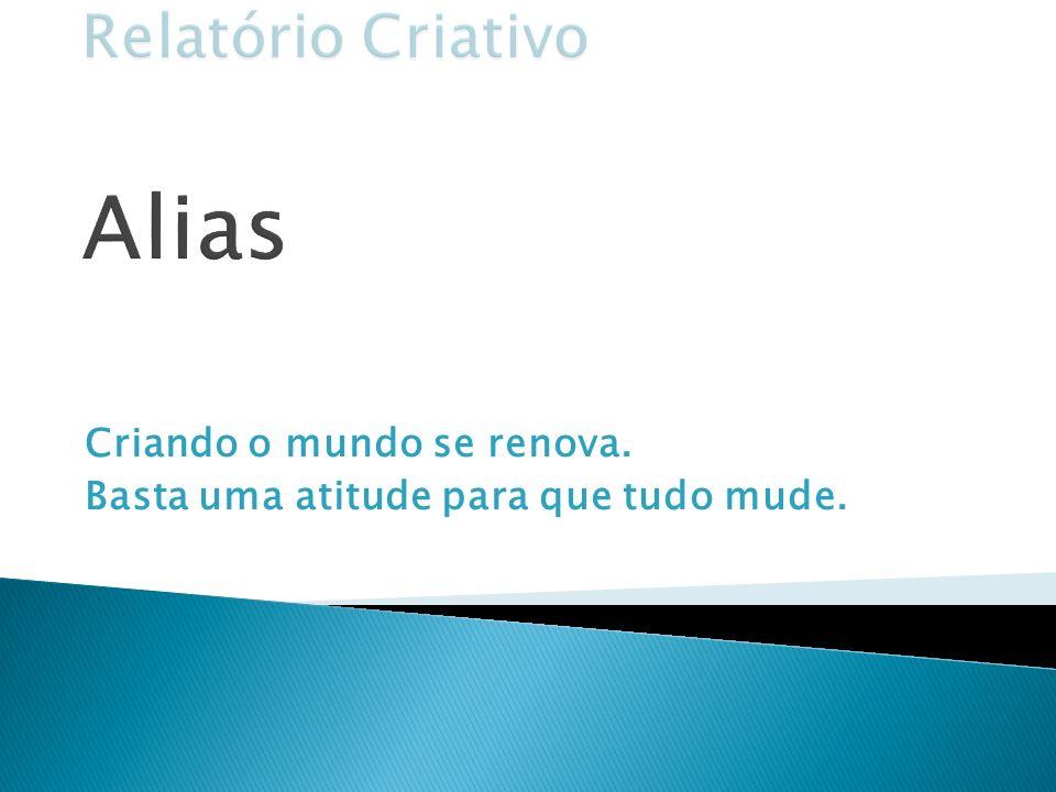 Relatório Criativo Alias