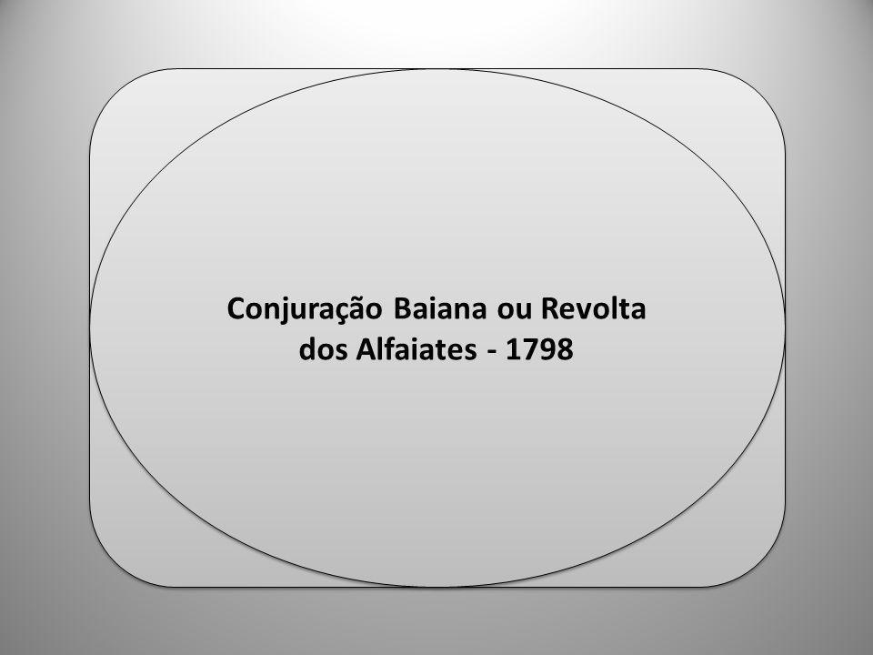 Conjuração Baiana ou Revolta dos Alfaiates - 1798
