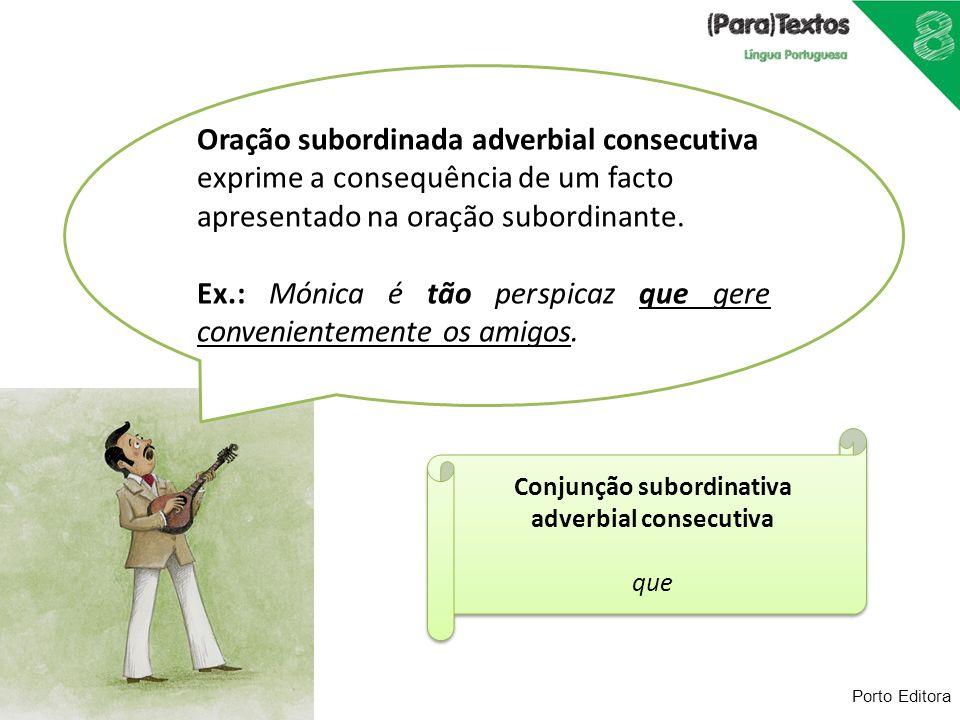 Conjunção subordinativa adverbial consecutiva