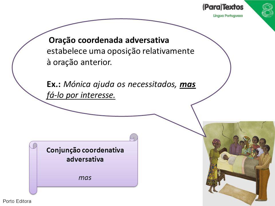 Conjunção coordenativa adversativa