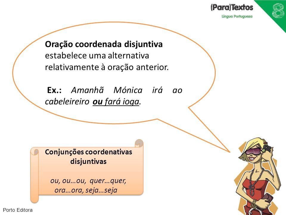 Conjunções coordenativas disjuntivas