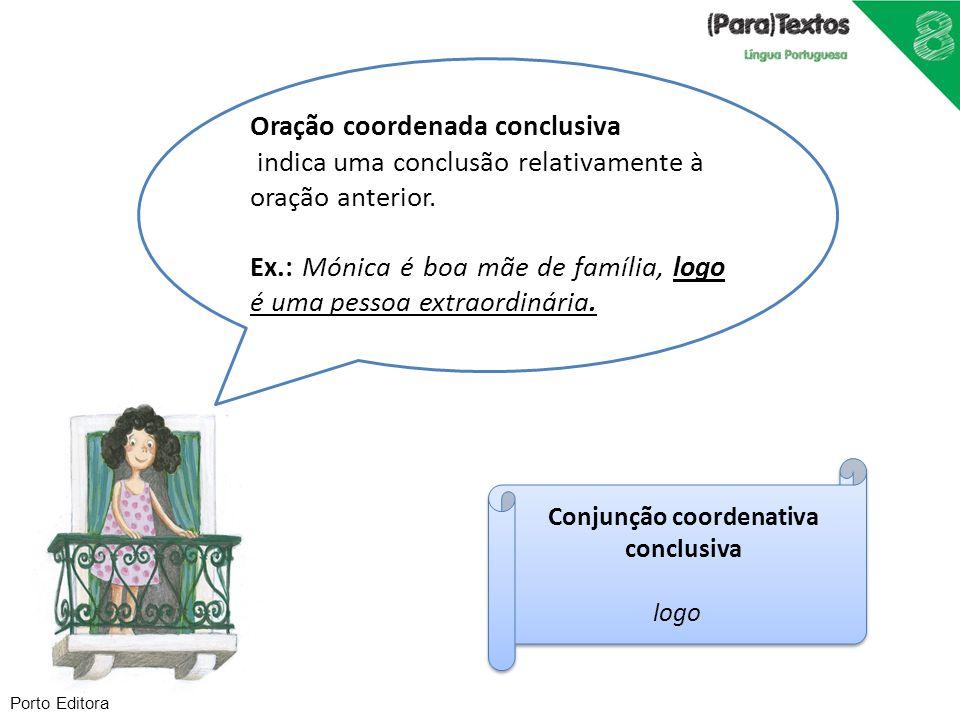 Conjunção coordenativa conclusiva