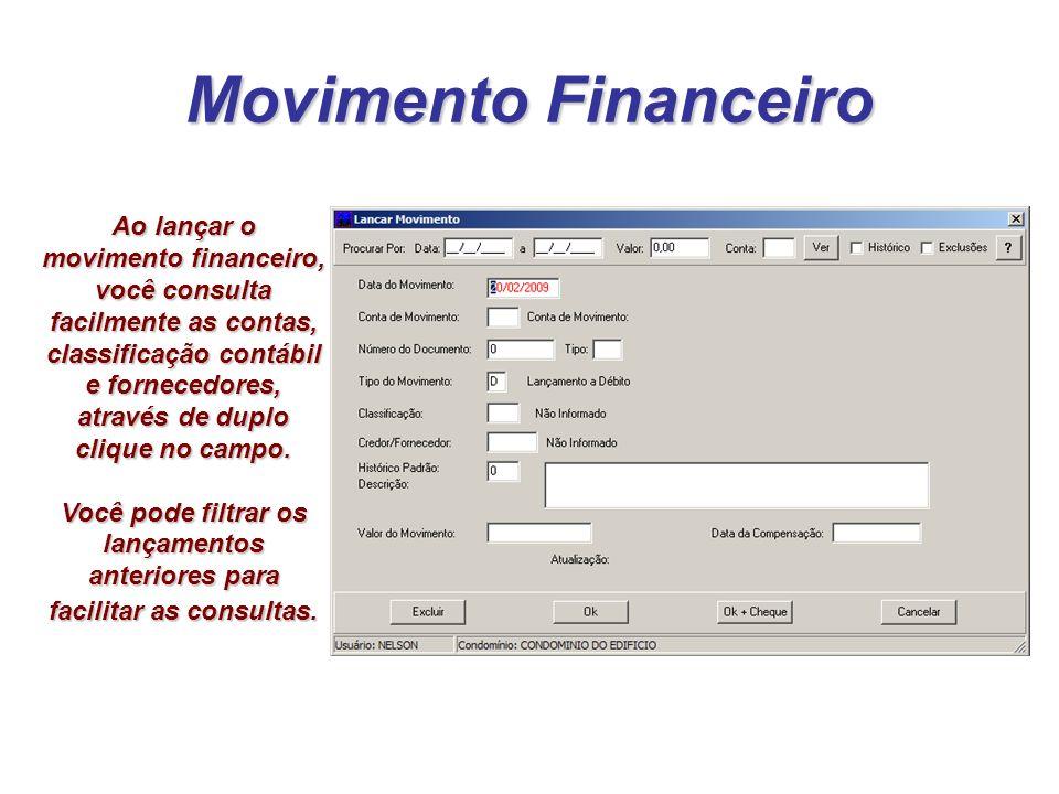 Movimento Financeiro