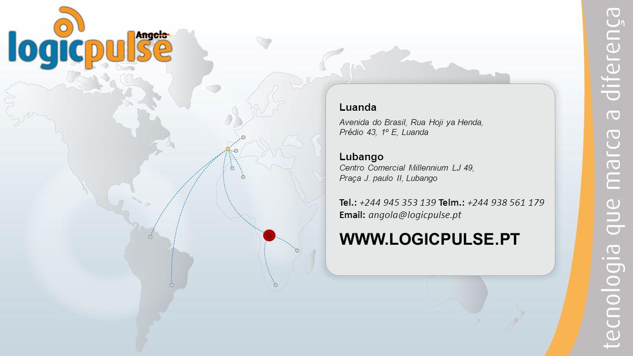 WWW.LOGICPULSE.PT Luanda Lubango