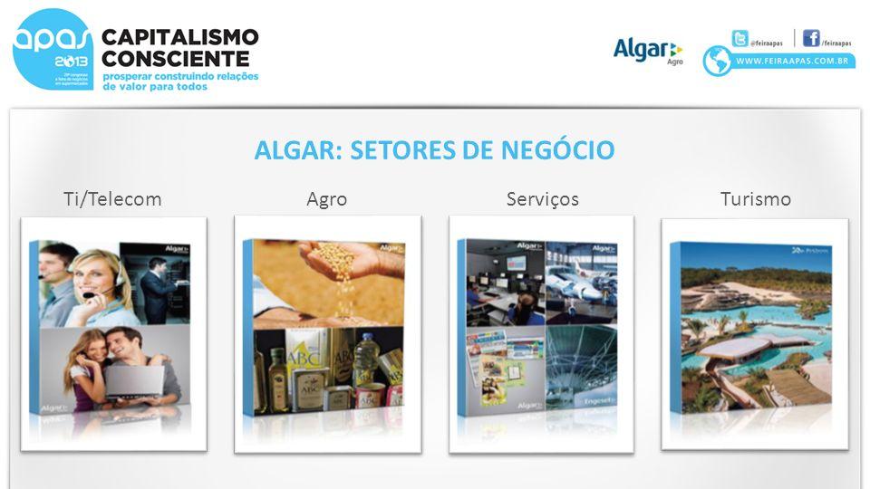ALGAR: SETORES DE NEGÓCIO