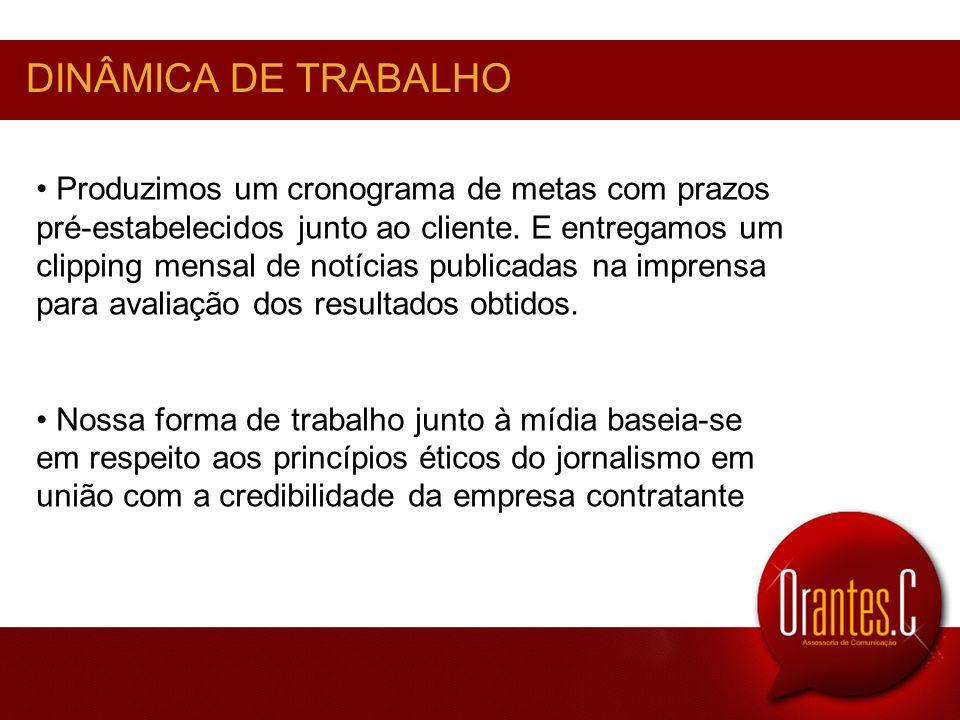 DINÂMICA DE TRABALHO