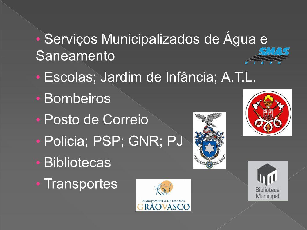 • Serviços Municipalizados de Água e Saneamento