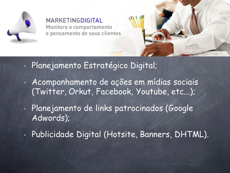 Planejamento Estratégico Digital;