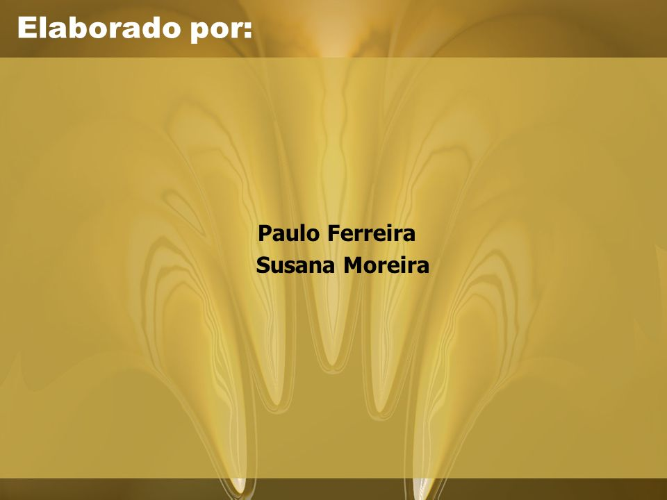 Paulo Ferreira Susana Moreira