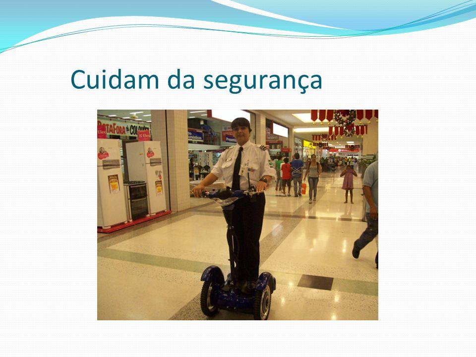 Cuidam da segurança