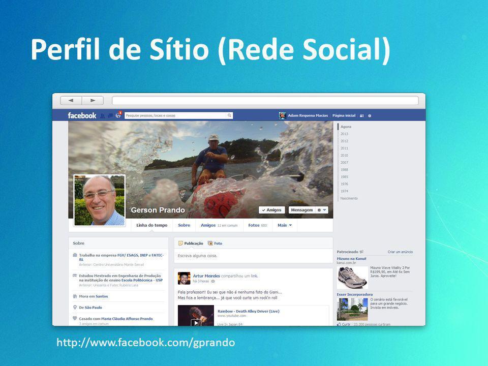 Perfil de Sítio (Rede Social)