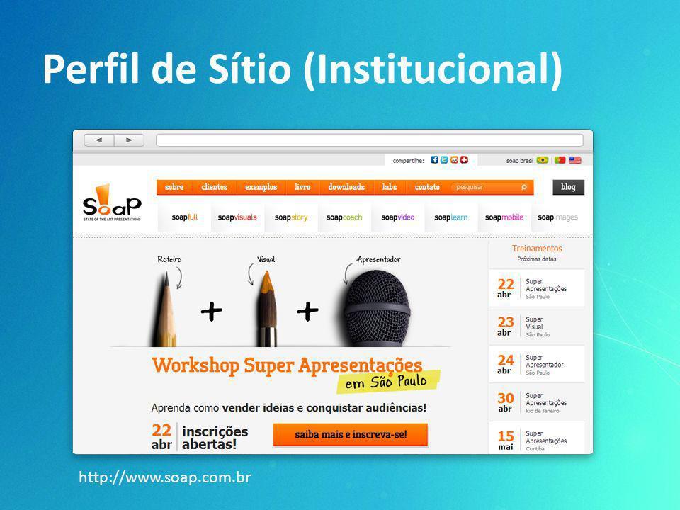 Perfil de Sítio (Institucional)