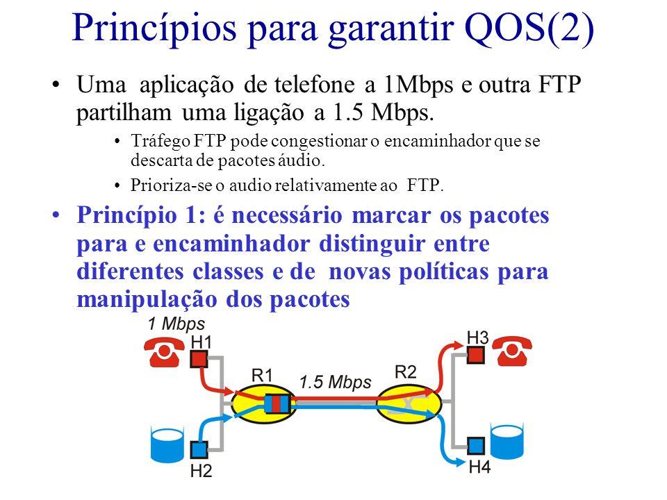 Princípios para garantir QOS(2)