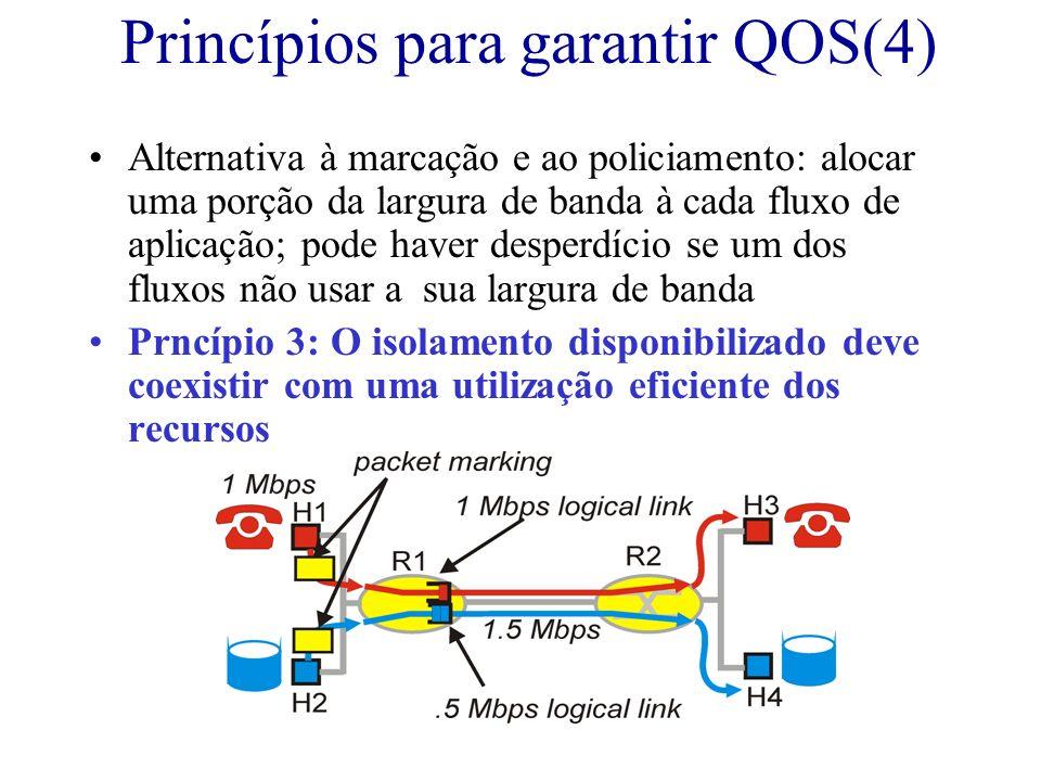 Princípios para garantir QOS(4)