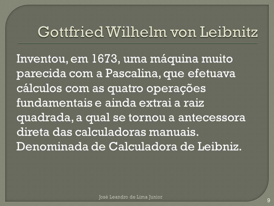 Gottfried Wilhelm von Leibnitz