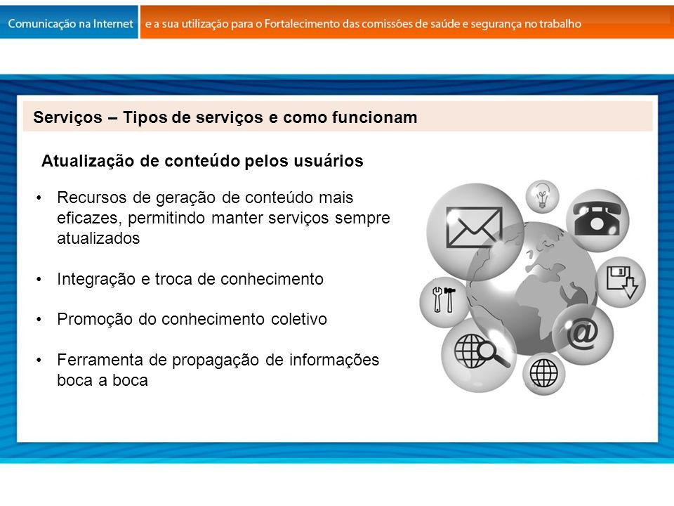 Serviços – Tipos de serviços e como funcionam