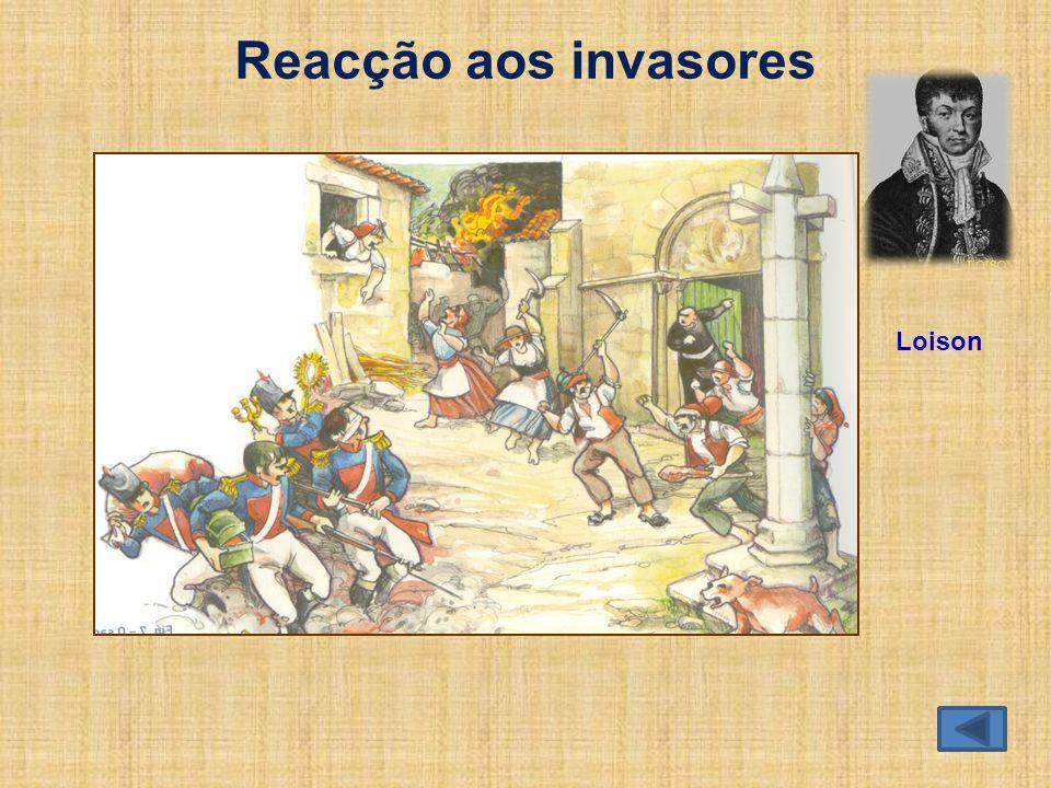 Reacção aos invasores Loison