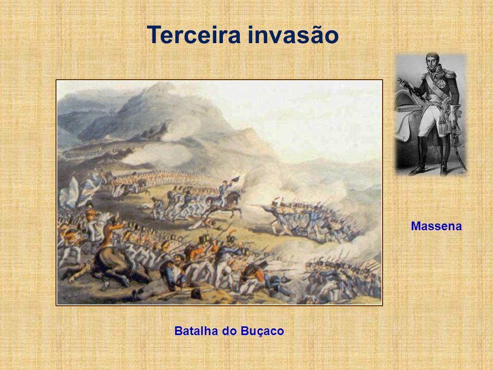Terceira invasão Massena Batalha do Buçaco