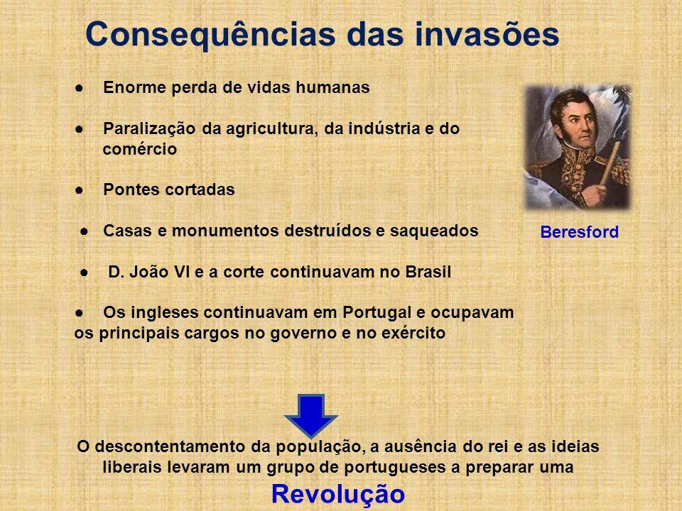 Consequências das invasões