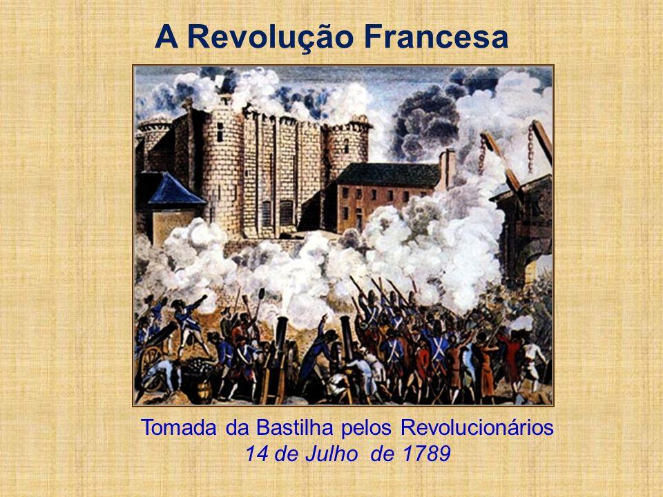 Tomada da Bastilha pelos Revolucionários