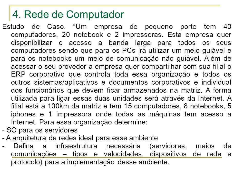 4. Rede de Computador