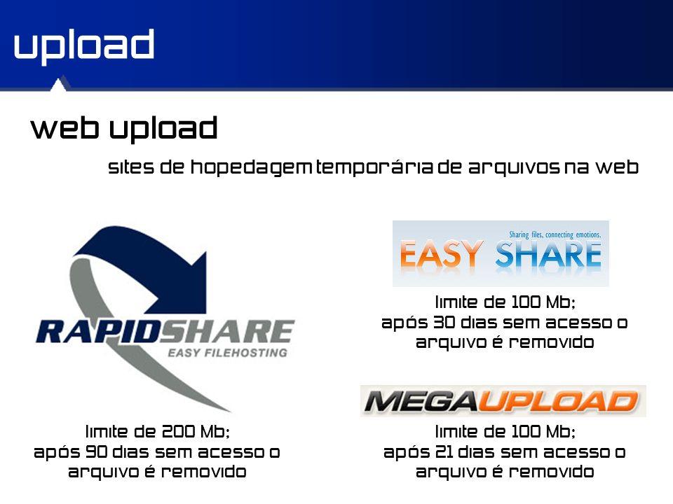 upload web upload sites de hopedagem temporária de arquivos na web