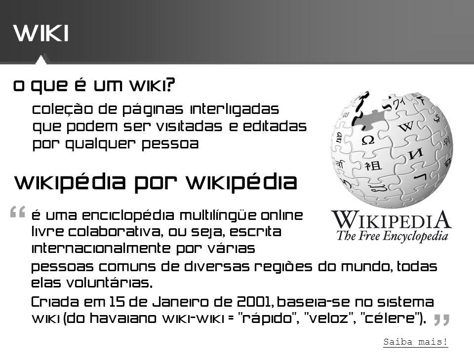 wiki wikipédia por wikipédia o que é um wiki