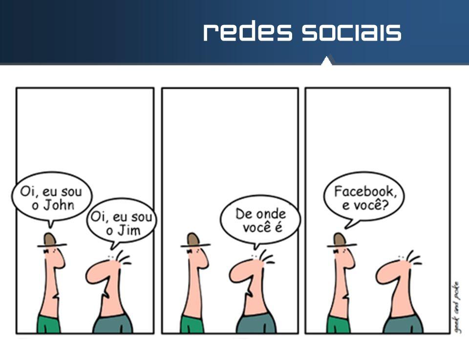 redes sociais meio online