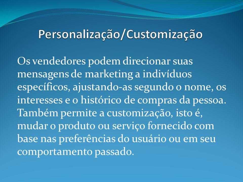 Personalização/Customização