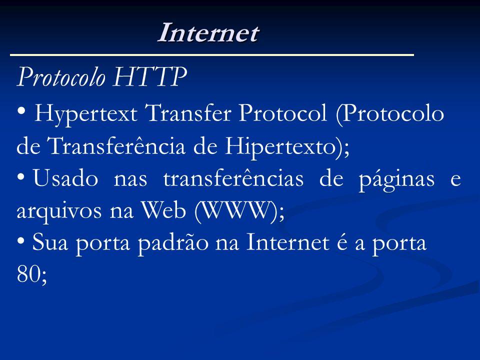 Internet Protocolo HTTP
