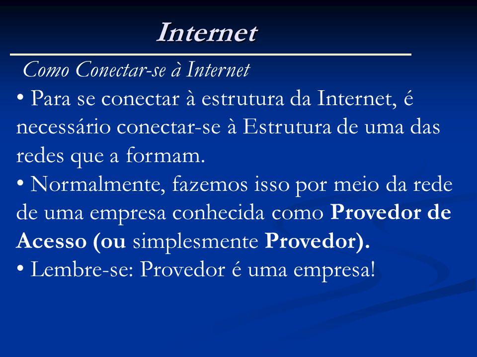 Internet Como Conectar-se à Internet