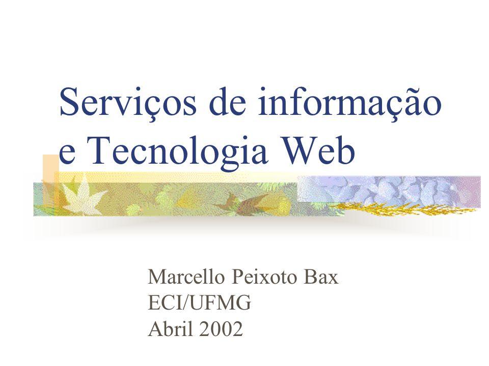 Serviços de informação e Tecnologia Web