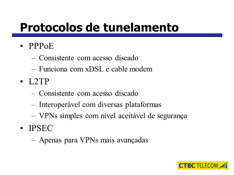 Protocolos de tunelamento