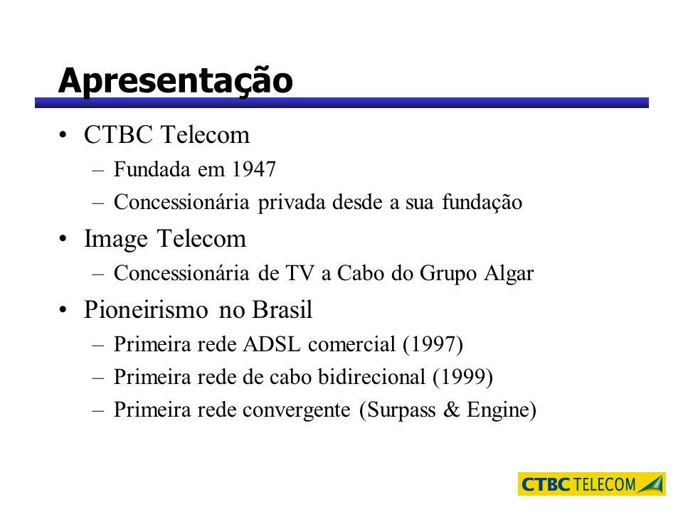 Apresentação CTBC Telecom Image Telecom Pioneirismo no Brasil
