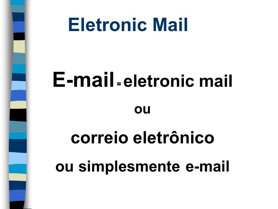 ou simplesmente e-mail