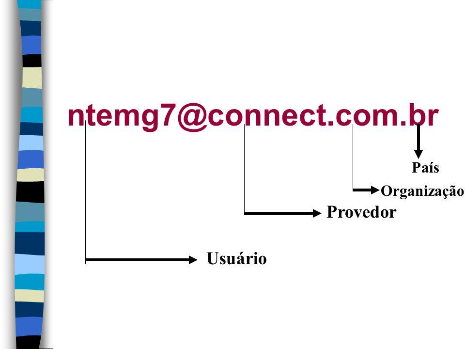 ntemg7@connect.com.br País Organização Provedor Usuário