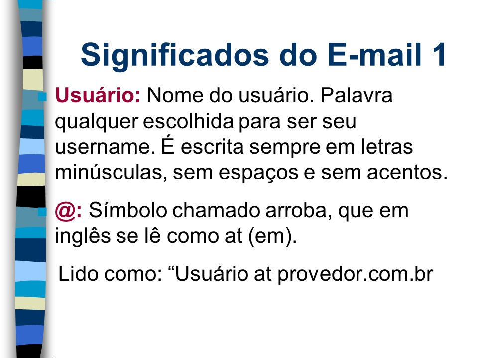 Significados do E-mail 1