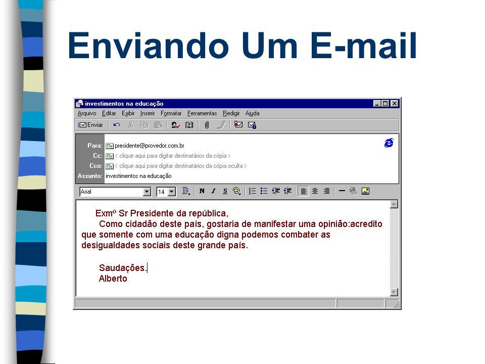 Enviando Um E-mail