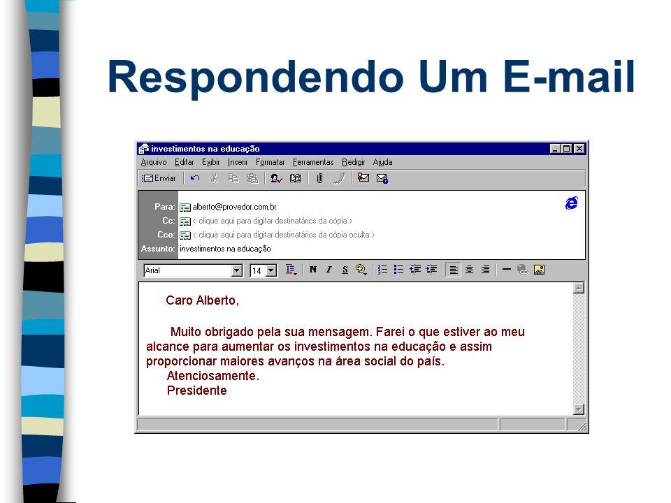 Respondendo Um E-mail