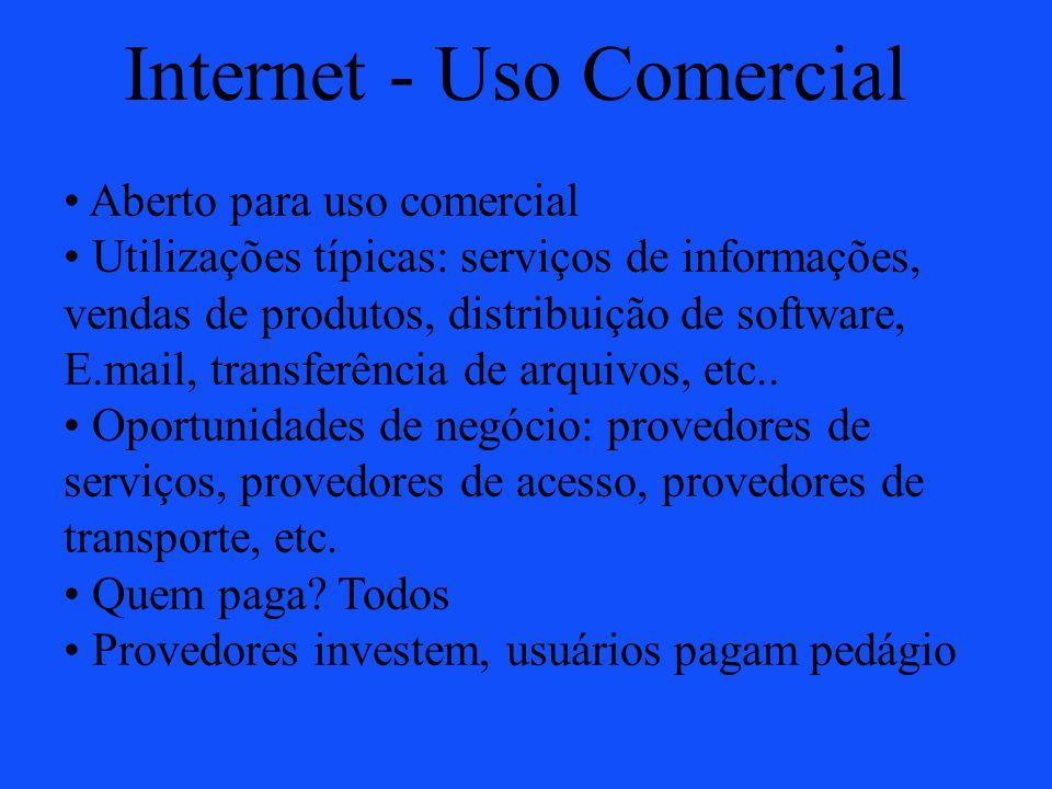 Internet - Uso Comercial