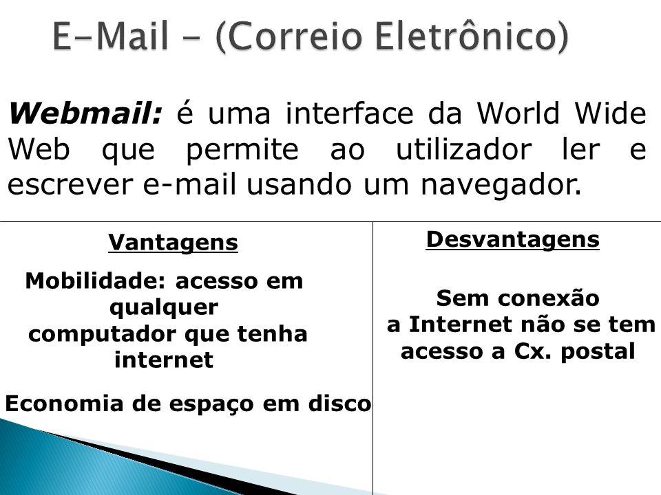 E-Mail - (Correio Eletrônico)