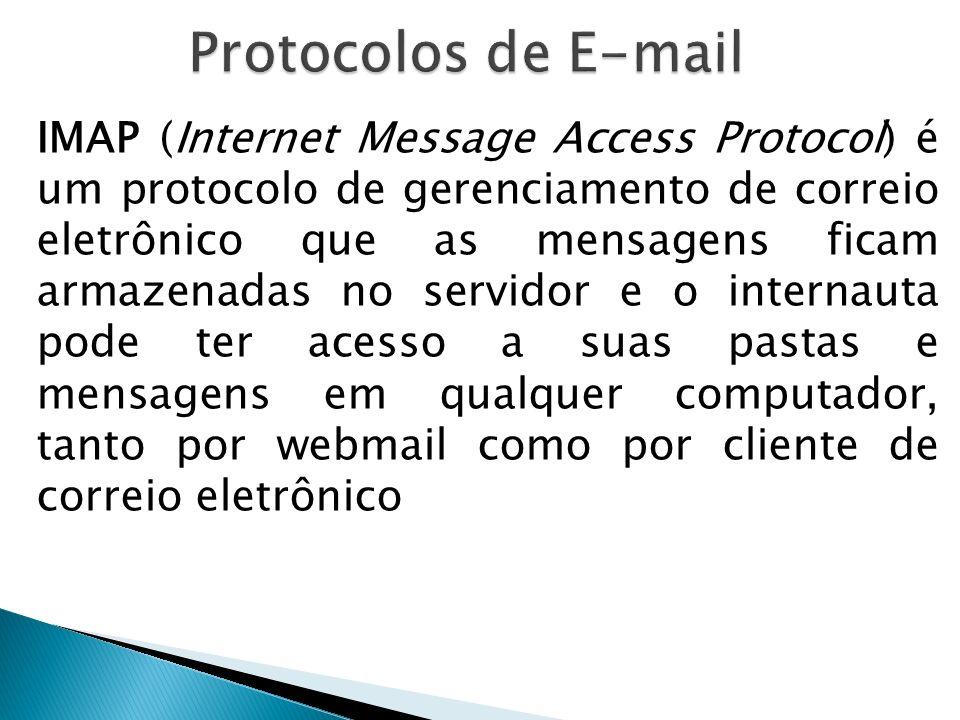 Protocolos de E-mail