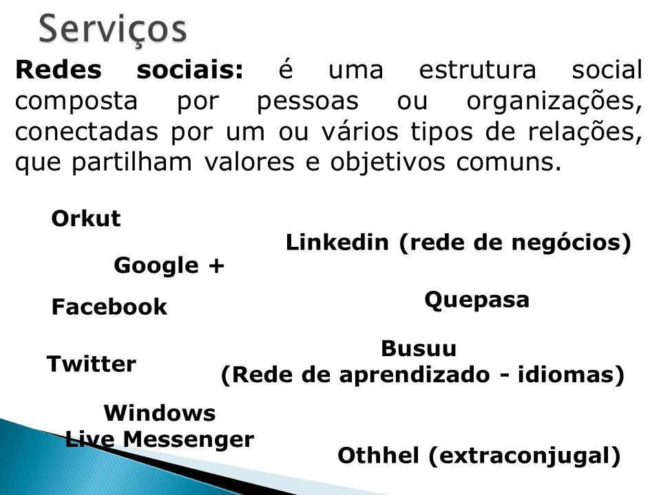 (Rede de aprendizado - idiomas)