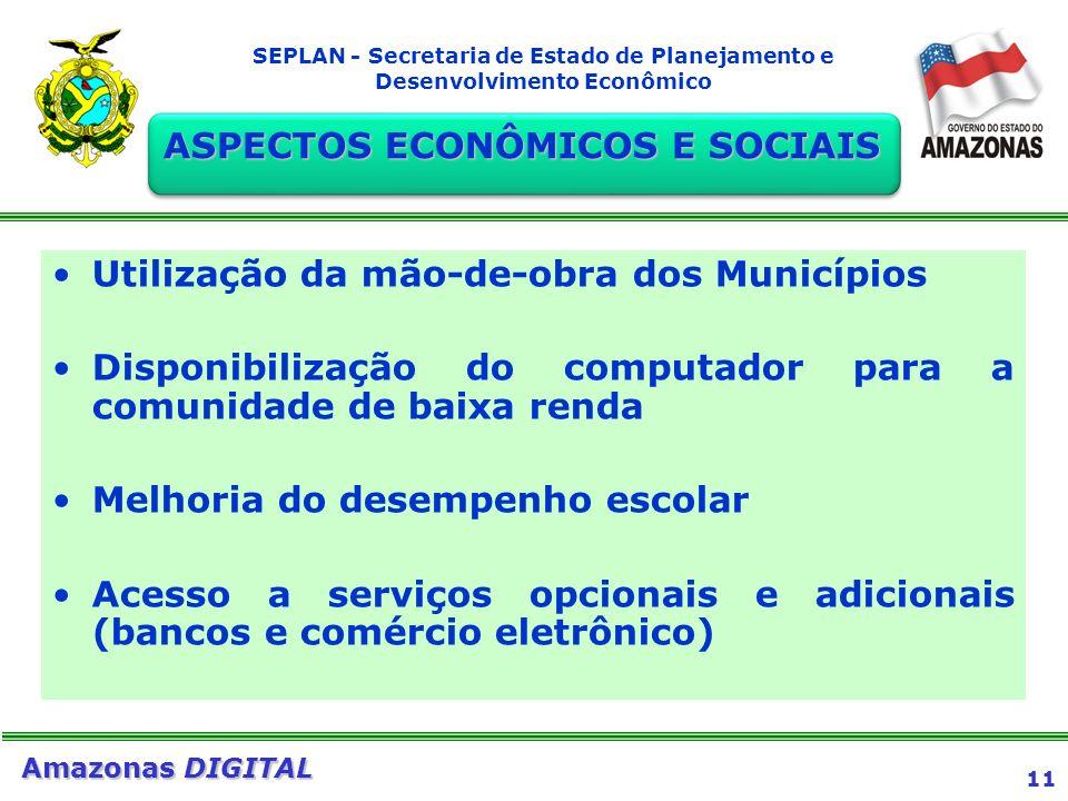 ASPECTOS ECONÔMICOS E SOCIAIS