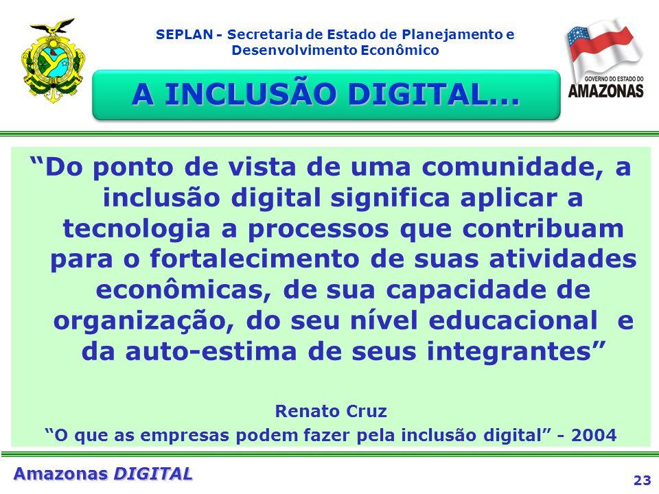 O que as empresas podem fazer pela inclusão digital - 2004
