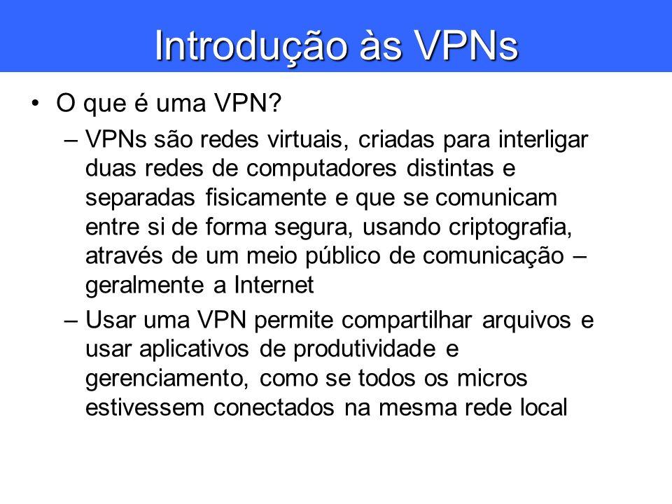Introdução às VPNs O que é uma VPN