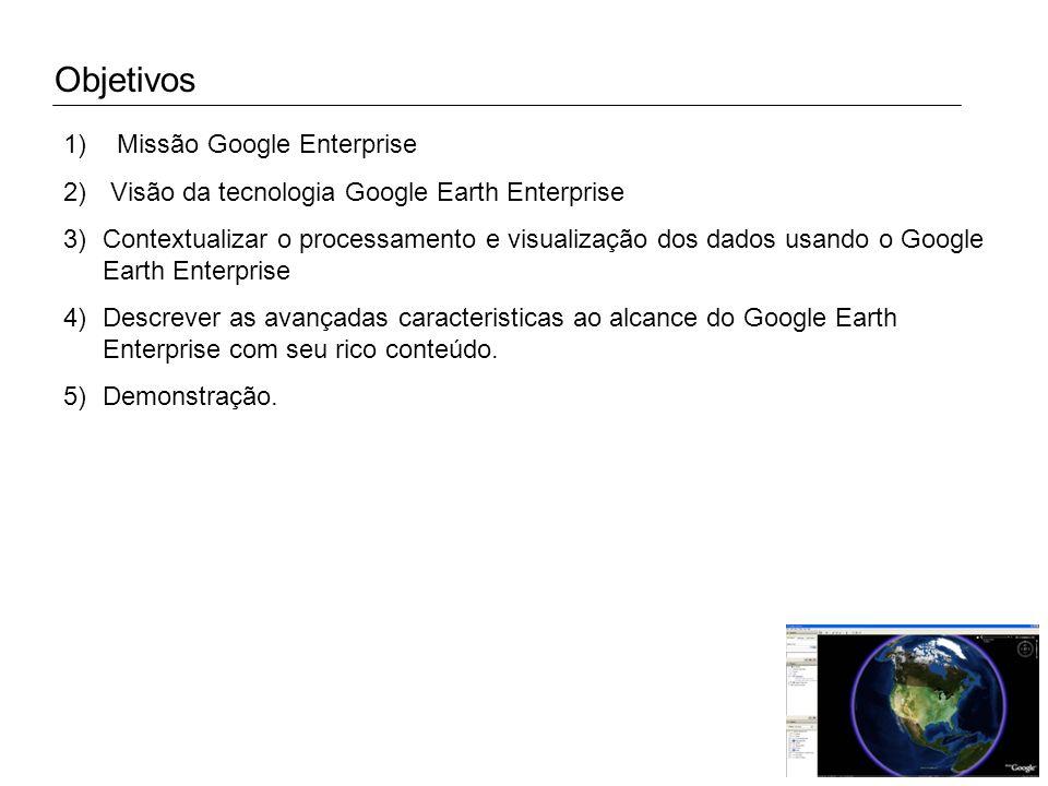 Objetivos Missão Google Enterprise